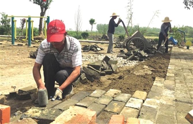 沔城回族镇美丽乡村建设全面提速